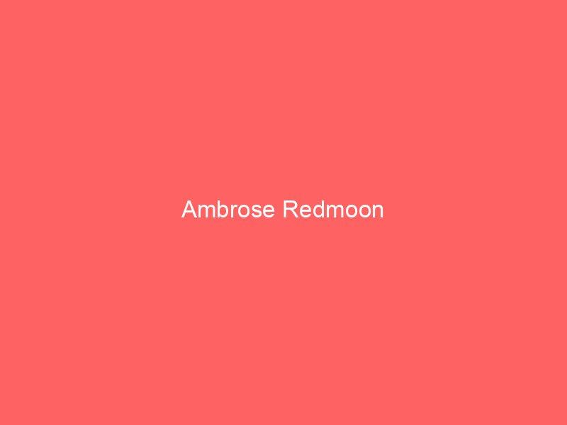 Ambrose Redmoon
